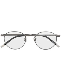 Montblanc очки в круглой оправе MB0172OJ