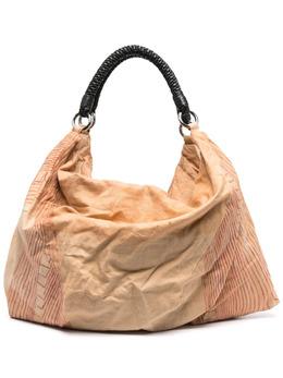 Lemaire объемная сумка-тоут в полоску W211BG273LF573