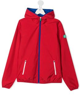 Save The Duck Kids куртка на молнии с нашивкой-логотипом J37320XWIND12