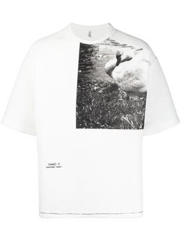 Oamc футболка с фотопринтом OAMS701582440108A