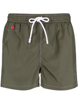 Kiton плавки-шорты с кулиской UCOM2CX07T09