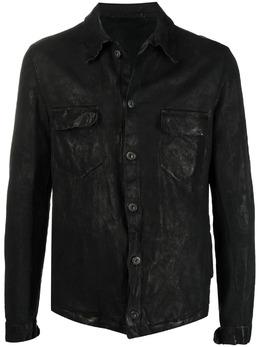 Salvatore Santoro куртка с эффектом потертости 40505U
