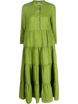 Aspesi ярусное платье-рубашка H601C195