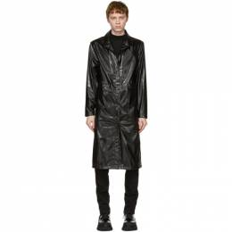 Rains Black String Over Coat 1835