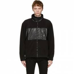 Rains Black Fleece Jacket 1840