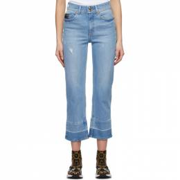 Versace Jeans Couture Blue Audrey Icon Jeans EA1HWA0TIEAOB7V