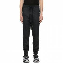 11 By Boris Bidjan Saberi Black Coated P13 Lounge Pants 1035-11-P13-F1229
