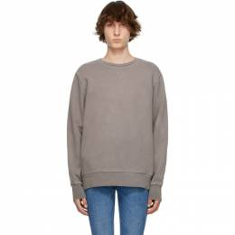 Ksubi Grey Cross Logo Sweatshirt 5000005623