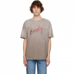 Ksubi Grey Gradient Flint Biggie T-Shirt 5000005627