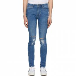 Ksubi Blue Van Winkle Trashed Jeans 5000005538