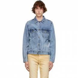 Ksubi Blue Denim Classic Jacket 5000005806