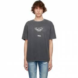 Ksubi Grey Mayhem Biggie T-Shirt 5000005614