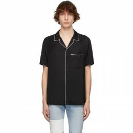 Ksubi Black Downtown Short Sleeve Shirt 5000005810