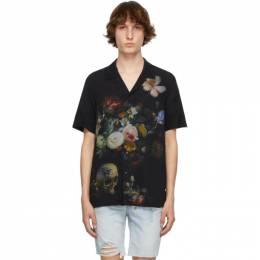 Ksubi Black Still Life Resort Short Sleeve Shirt 5000005601