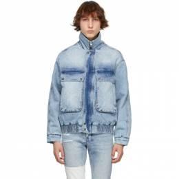 Ksubi Blue Denim Kolossus Jacket 5000005805