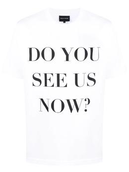 Botter футболка с короткими рукавами и надписью 3012J002