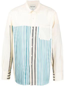 Botter рубашка в полоску 4016W052