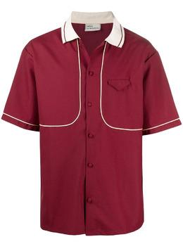 Drole De Monsieur рубашка с контрастной отделкой SS21SH001BY