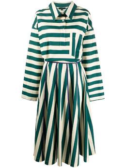 Jejia атласное платье в полоску 3039J2A139215205
