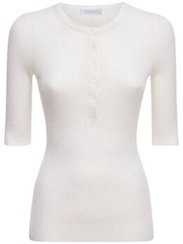 Платье Из Кашемира И Шелка Gabriela Hearst 73IXSC034-SVZPUlk1