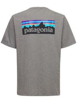 Футболка P-6 Logo Pocket Responsibili-tee Patagonia 73I0LL002-R0xI0