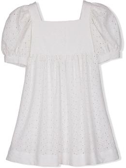 Lapin House расклешенное платье с английской вышивкой 211E3181