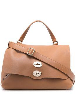 Zanellato сумка-мессенджер с двумя застежками ZA00PEL36041POSTINAL