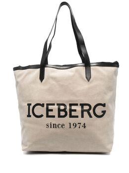 Iceberg сумка-тоут с логотипом 72086904