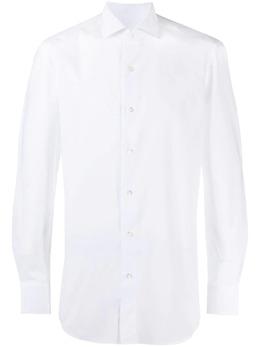 Boglioli рубашка со срезанным воротником 511brc858