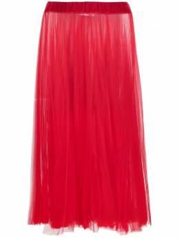 Atu Body Couture прозрачная плиссированная юбка ATS21108