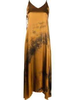 Marques'Almeida платье макси с принтом тай-дай DR0207LWTD
