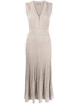 D'Exterior трикотажное платье макси 52046