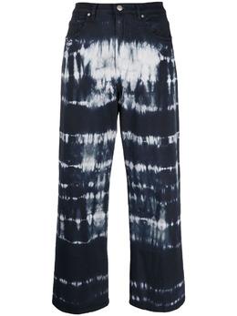 P.a.r.o.s.h. укороченные джинсы с принтом тай-дай CLIFFD230383