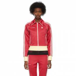 Wales Bonner Pink adidas Edition Stripe Track Jacket H34617
