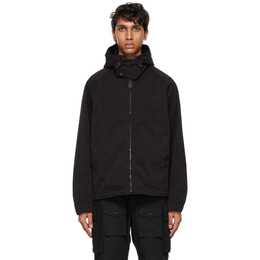 Ten C Black Anorak Jacket 13CTCUC04032 002105