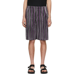 Homme Plisse Issey Miyake Purple Tailored Line Shorts HP16JF202