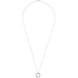 Le Gramme Silver Slick Polished Le 2.5 Grammes Round Pendant Necklace LG_CARPOD081_2.5