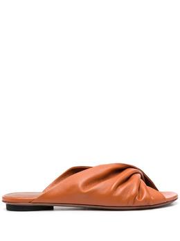 L'Autre Chose сандалии с драпировкой LDN06805CC26155027