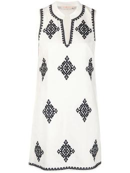 Tory Burch платье с геометричным принтом 48705