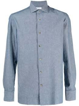 Boglioli рубашка из ткани шамбре 581LBTC892