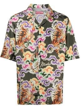 Maharishi рубашка с принтом 2130CUPROOLIVE