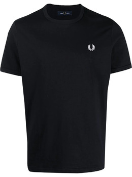 Fred Perry футболка с вышитым логотипом FPM351937