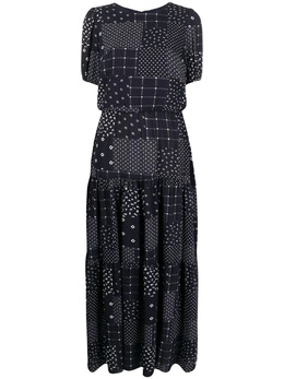 Lauren Ralph Lauren платье с короткими рукавами и принтом 250830094