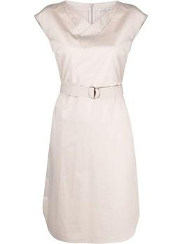 Peserico платье с поясом S02553A01979