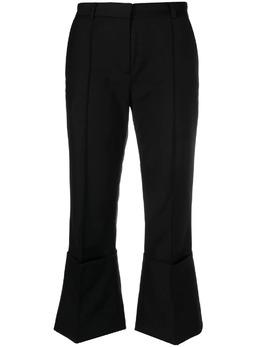 Rokh укороченные расклешенные брюки R1CA58PM