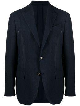 Lardini фактурный однобортный пиджак EL981AK71ELA56532