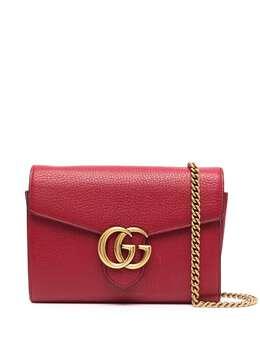 Gucci Pre-Owned кошелек GG Marmont на цепочке U1532Gcibg