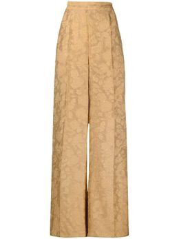Atu Body Couture жаккардовые брюки палаццо с узором ATS21096