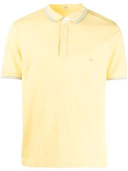 Fay рубашка поло с вышитым логотипом NPMB242140STDW
