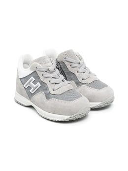 Hogan Kids кроссовки со вставками HXT0920V311JYC566F